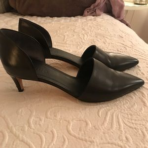 Vince d'orsay pumps! Adorable and great for work.